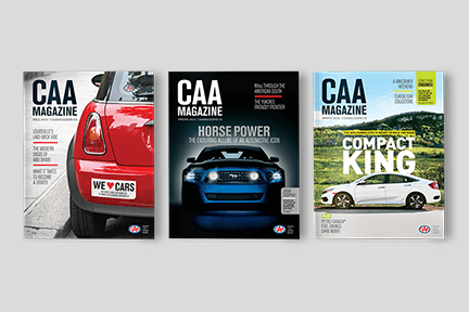 CAA Magazine Covers